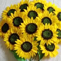 Aplikasi Bunga Matahari tanpa tangkai