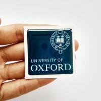 OXFORD Emblem Stiker Resin Aksesoris Casing PC dan laptop KACA MOBIL