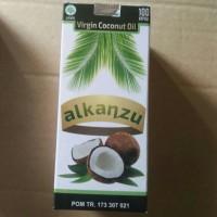 virgin coconut oil VCO alkanzu 100kapsul