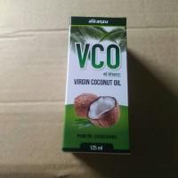 virgin coconut oil cair 125ml alkanzu