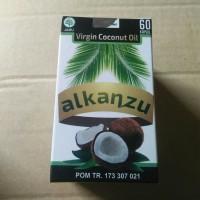 virgin coconut oil VCO alkanzu 60 kapsul