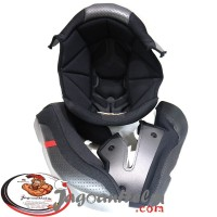 BUSA HELM RSV FFZERO | BLACK RED | PIPI + KEPALA ORIGINAL
