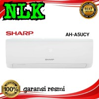AC SHARP AH-A5UCY 1/2 PK TURBO COOL SERIES R32 0.5PK GARANSI 10 TAHUN