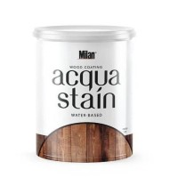 Finishing Cat Kayu Waterbased Milan Acqua Stain plitur woodstain
