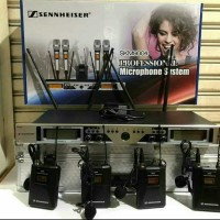 Mic Wireless Sennheiser SKM-9004 4bh Mic Jepit/Clip on - Multi Channel