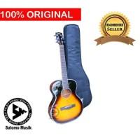 Gitar Akustik Acoustic Elektrik Electric Cetta CJ18 TVS + Softcase