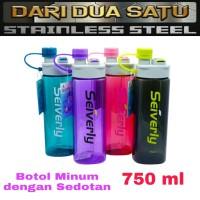 Botol Air Minum Sport dengan Sedotan 750 ml (H-990)