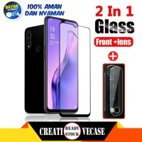 Paket Tempered Glass Oppo A31 6.5 inc 2020 Anti Gores Screen Protector