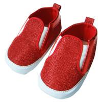 Sepatu Bayi Perempuan PLEU Prewalker Glitter