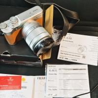 Camera Kamera Mirrorles Fuji Film Xa10 Mulus 99% lensa 16 - 50 Bs gsen