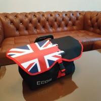 tas sepeda lipat front bag warna hitam (british)
