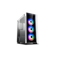 DEEPCOOL MATREXX 55 V3 ADD-RGB-3F WHITE Tempered Glass Gaming Case