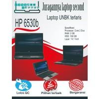 LAPTOP UNBK HP 6530b MULUS BERGARANSI LAPTOP SECOND MURAH LAPTOP BEKAS