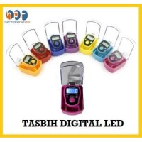 (EH136) Tasbih Digital Led Light Finger Counter / Alat Hitung Jari Led