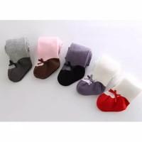 C22 Legging tutup kaki bayi / anak motif sepatu balet import