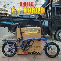 Sepeda Lipat UNITED ETrifold Ebike