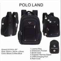 Ransel Laptop Polo land 5520C Expanding Ransel Import 20inch Free Slot