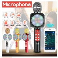 Mikrofon Wireless Bluetooth Hifi MIC Speaker Untuk Handphone