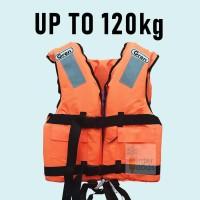 Life Jacket / Life Vest / Rompi Pelampung GREN Ori max buoyancy 120kg