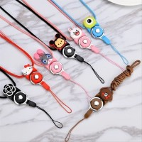 New Tali Gantungan Phone Strap for Flashdisk Handphone Motif Cute Rubb