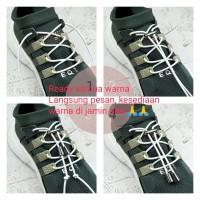 Tali Sepatu Elastis IMOF Original Full Nikel Size 1 Meter
