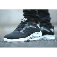 Sepatu Sport Adidas Alphabounce Sepatu Sneakers Olahraga Pria - HITAM