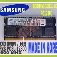 RAM SAMSUNG SODIMM PC3L DDR3L DDR3 8GB PC 12800