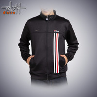 Jaket, Fashion Pria, Original FILA jackscub, Pakaian Pria