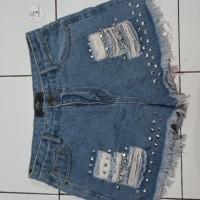 *Preloved* Hotpants j.rep jeans sobek stud