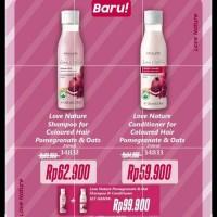 love nature shampoo + conditioner