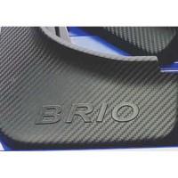 Mud Guard All New Brio Carbon EMBOS Karpet Lumpur Brio 2018 2019
