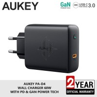 AUKEY PA-D4 60W Travel Wall Charger Power Delivery PD Macbook Pro
