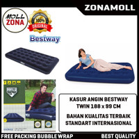 Bestway Matras Kasur Angin 188 x 99 cm Twin Biru - Air Bed Twin 67001