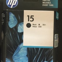CATRIDGE TINTA HP 15 BLACK ORIGINAL