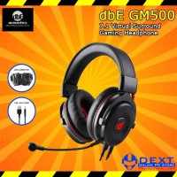 dbE Acoustics GM500 7.1 Virtual Surround High End Gaming Headphone