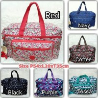 Promo Kp7028 Tas Kipling/Travel Bag Kipling Motif + Tali Panjang 4Slet