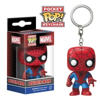 Pocket Pop Super Hero Gantungan Kunci Action Figure Funko Pop Keychain