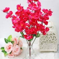 bunga plastik artificial artifisial hias hiasan flower sakura A6