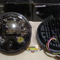 Unik Lampu Daymaker 7 inch Tiger Vixion Scorpio Diskon