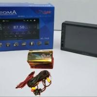 paket head unit mirorlink enigma EG-7028 free kamera mundur