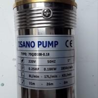 Pompa Air Submersible 3 Dim 025 Hp 220 Volt ISANO PUMP