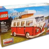 LEGO 10220 EXCLUSIVE VM CAMPER T1 BRICK MODEL