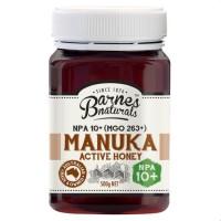 Barnes Manuka Honey NPA 10+ (MGO 263+) 500gram