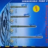 Pompa Air Submersible 3 Dim 0.33 HP 220 Volt Shimizu plus 30m