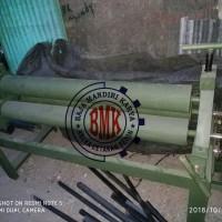 mesin roll plat mampu tekan 10mm panjang 150cm bergaransi unit re