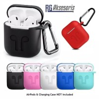 NEW APPLE AIRPODS SILICON CASE AIRPOD SOFT PROTECTOR POUCH PREMIUM I