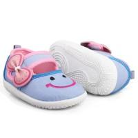 K02 sepatu anak bayi perempuan usia 1 2 3 tahun terbaru model denim