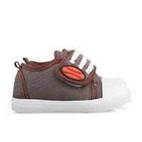 K01 Sepatu Anak Laki Laki Umur 1 2 3 Tahun Murah Bahan Denim Model