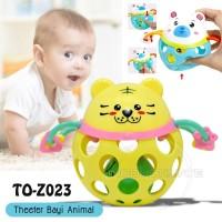 Mainan kerincingan Bayi Rattle bola Teether mainan Motorik TO-Z023