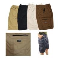 Celana Pendek Pria Cargo Premium